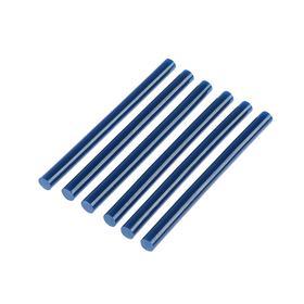 Клеевые стержни TUNDRA, 7 х 100 мм, синий, 6 шт.