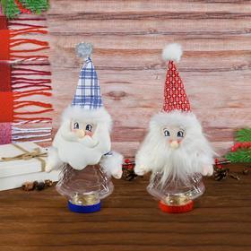 Конфетница «Дед Мороз», цвета МИКС