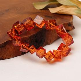 """Bracelet """"the amber"""" cube to increase"""