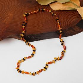 Amber beads, 9g