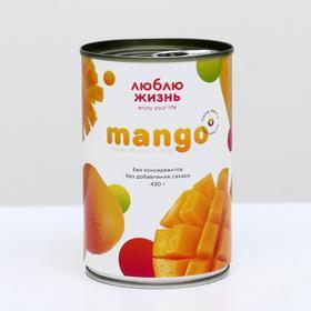 Пюре манго из Мьянмы, 430 г