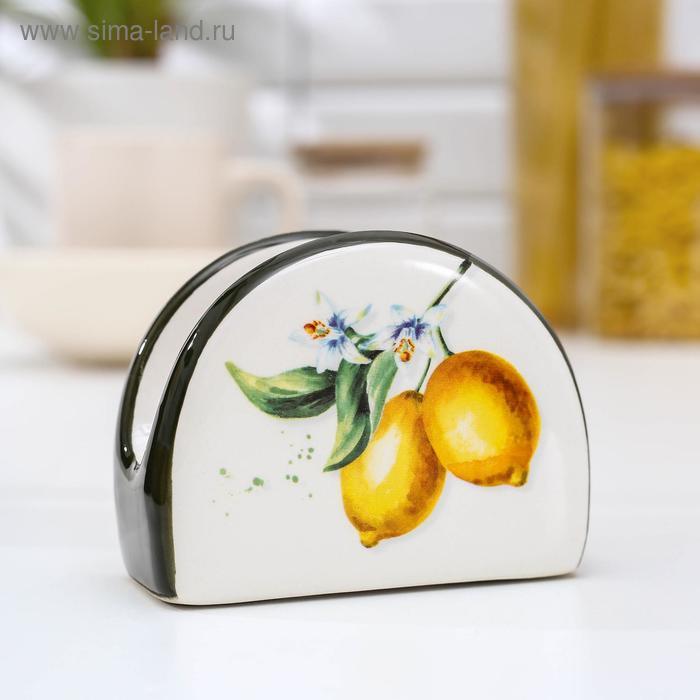 """Napkin holder """"Lemon"""" 9, 5x7x4, 3 cm"""