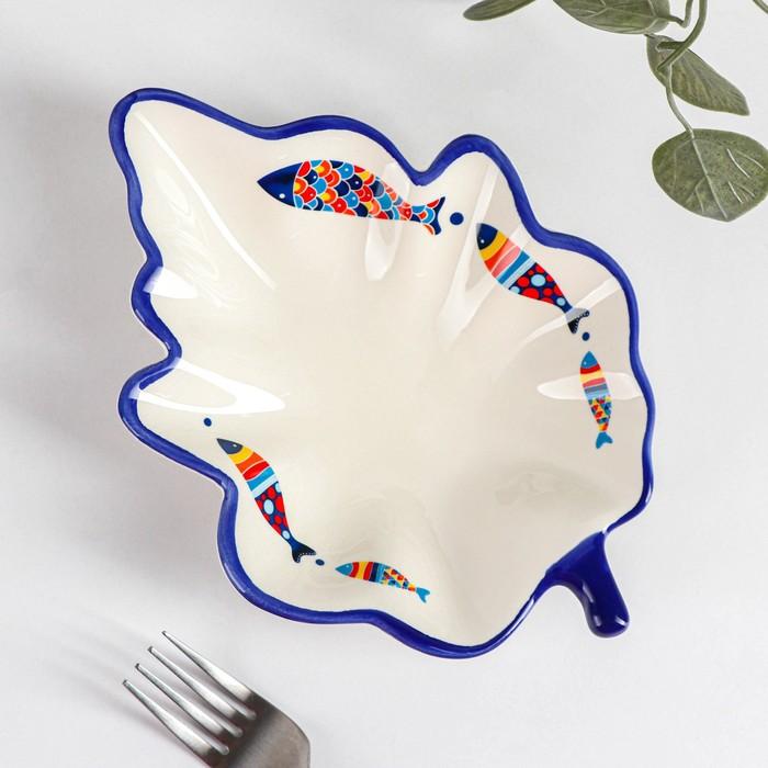 Блюдо сервировочное Доляна «Емеля», 21×15×4,5 см - фото 235096