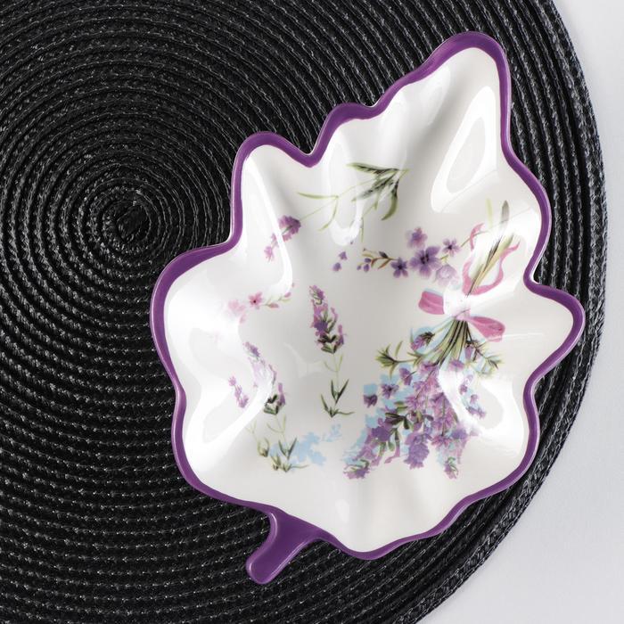 """Serving dish """"Lavender"""" 21x15x4, 5 cm"""