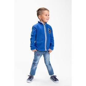 Джинсы для мальчика, цвет синий, рост 92 см