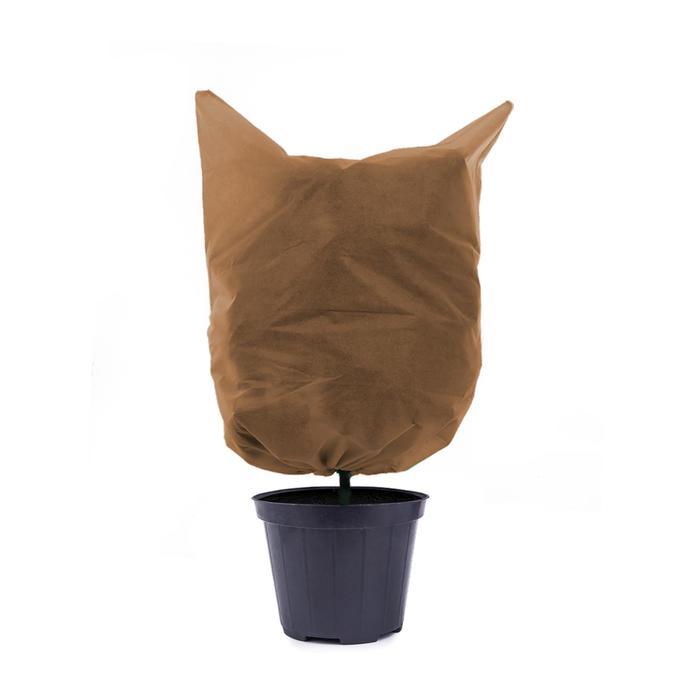 Чехол для растений, прямоугольник на шнурках, 140 × 100 см, спанбонд с УФ-стабилизатором, плотность 60 г/м²