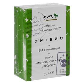 """Микробиологическое удобрение """"Восток ЭМ-1"""", концентрат, 30 мл"""