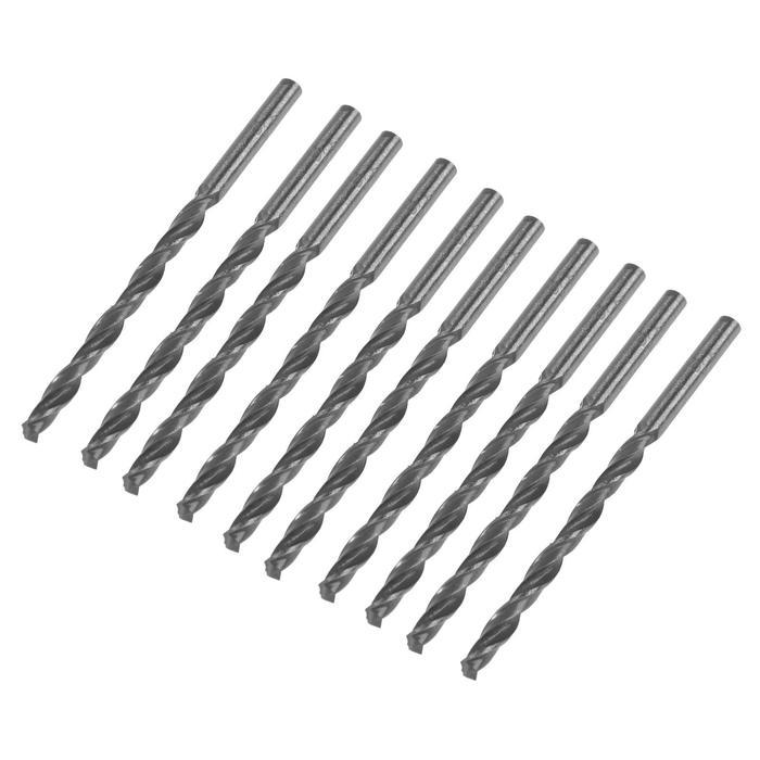 Сверло по металлу, d=4 мм, цилиндрический хвостовик, ГОСТ 10902