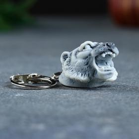 """Брелок """"Голова тигра"""" 4,5см"""