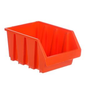 Лоток для метизов №3, 230х170х125 мм, оранжевый