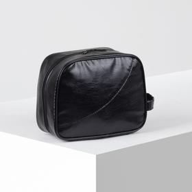 71069 / suit.k Cosmetic bag dor, 22 * ​​10 * 18, zippered, black