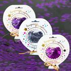 "Confetti in a postcard ""Lightness"", colors MIX"