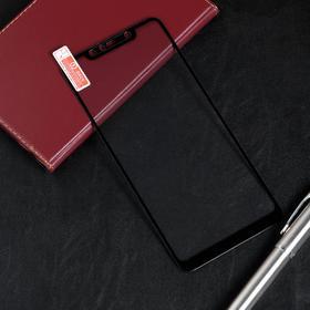 Защитное стекло Red Line для Xiaomi Redmi Note 6 Pro, Full Screen, полный клей, черное