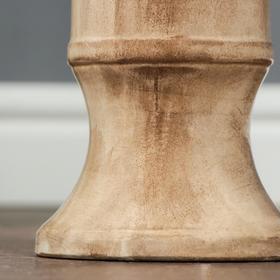 """Ваза напольная """"Дея"""", под дерево, 40 см, керамика - фото 7317029"""