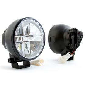 Противотуманная фара светодиодная MTF Light, Ф90мм,12 В,5.9 Вт, 2 шт, FLR90