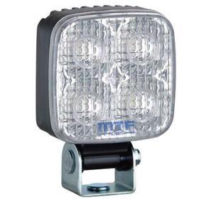 Прожектор светодиодный для спецтехники MTF Light 12-24В, 10Вт, 5500К, квадратный, JL9850