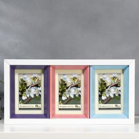 Photo frame plastic 3 in 1 266-1105-1 10x15 cm