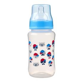Бутылочка для кормления, 320 мл., широкое горло, цвет зеленый