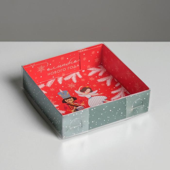Коробка для кондитерских изделий «Сказка», 12 × 12 × 3 см