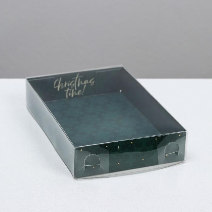 Коробка для кондитерских изделий Christmas time, 17 × 12 × 3 см