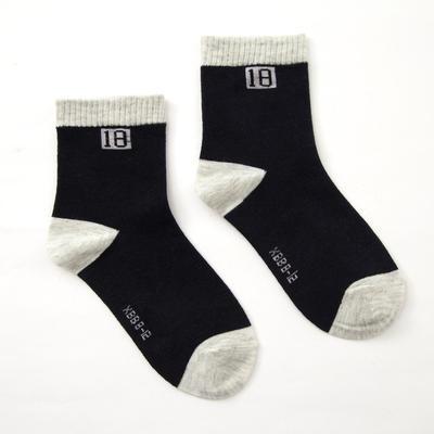 "Collorista children's socks ""plain"", size 13-17 (2-4 years), color blue"