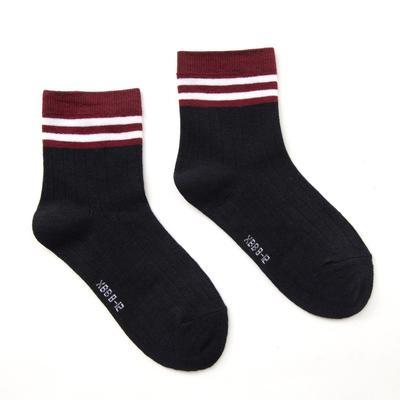 """Children's socks Collorista """"Stripe"""", size 13-17 (2-4 years), color blue"""