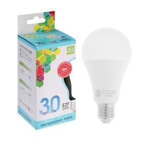 Лампа светодиодная ASD LED-A70-std , Е27, 30 Вт, 230 В, 4000 К, 2700 Лм