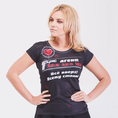 "Футболка женская ""Агент Sex"", размер M"
