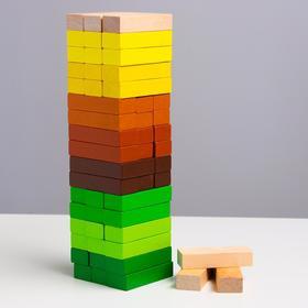 """Логический игровой набор  """"Башня"""""""" Лес"""" ( 54 дет.)"""
