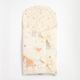 """Одеяло-конверт """"Крошка Я"""" Safari, 33х73 см, 100% хлопок"""