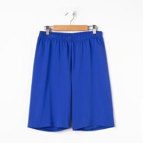 Шорты женские, цвет синий, размер 44