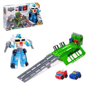 "Avtotrek ""Autobots"" with toy cars, transformers"