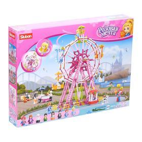 Конструктор Розовая мечта «Колесо обозрения», 789 деталей