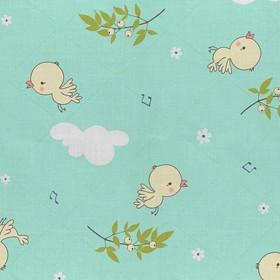 Постельное бельё детское «Птенчики» 112х147, 100х150, 40х60 -1 шт - фото 7402210