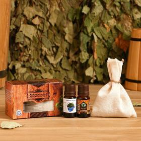 Запарка мандарин с эфирным маслом чайное дерево, эвкалипт, коробка