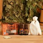 Запарка яблоко с эфирным маслом лаванда, лимон, коробка - фото 1633581