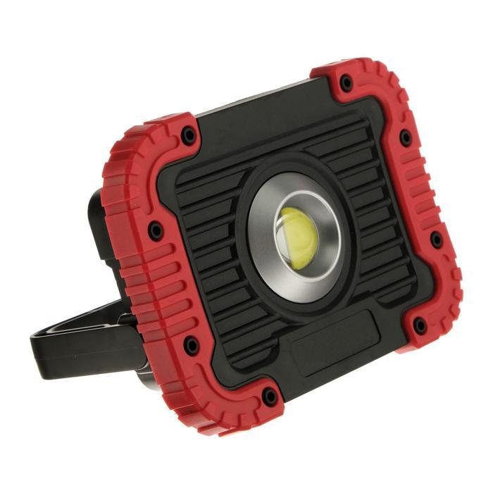 Прожектор светодиодный автономный Ritter, 5 Вт COB + линза, 4xAA, 410 Лм, IP44