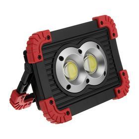 Прожектор светодиодный аккумуляторный Ritter, 10 Вт COB+1 Вт LED, 3000мАч, 1100 Лм, IP65