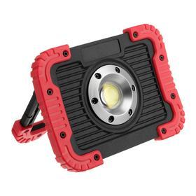 Прожектор светодиодный аккумуляторный Ritter, 15 Вт COB+линза, 3000мАч, 1100Лм, диммер, IP65