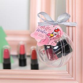 """Набор маленьких помад для губ """"Hello, winter!"""", 3 цвета"""
