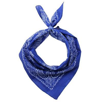 Women's shawl, size 50x50, color blue
