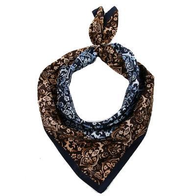 Women's shawl, size 53x53, color multicolor