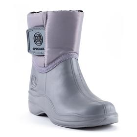 Ankle boots for children EVA, gray, size 32