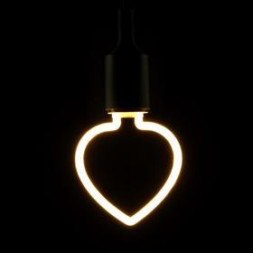 Лампа светодиодная THOMSON LED DECO HEART, 4 Вт, Е27, 2700 К, 400 Лм, матовая