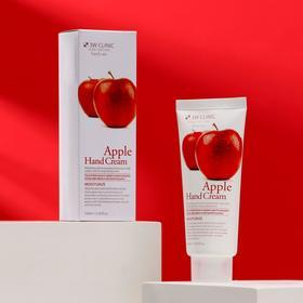 Увлажняющий крем для рук с экстрактом яблока 3W CLINIC Moisturizing Apple Hand Cream, 100 мл