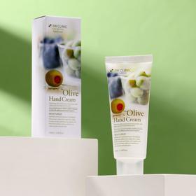 Увлажняющий крем для рук с экстрактом оливы 3W CLINIC Moisturizing Olive Hand Cream, 100 мл