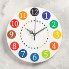 """Wall clock """"Bright numbers"""", smooth running"""