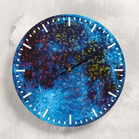 """Часы настенные """"Планета"""", d-23.5. плавный ход"""
