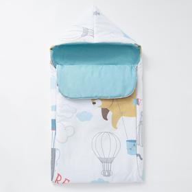 """Одеяло-конверт """"Крошка Я"""" Аviator, 39х75 см, 100% хлопок"""