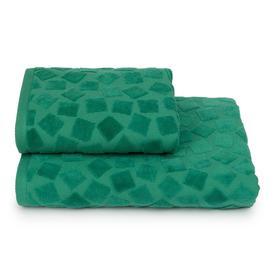 Полотенце махровое Piccolo mosaico ПЦС-3501-4476цв.16-5930 70х130 см, зел, хл100%, 460г/м2